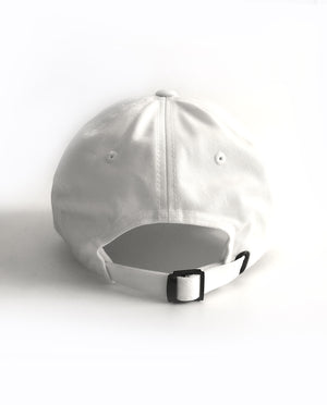 Mind Over Matter Relaxed Hat White
