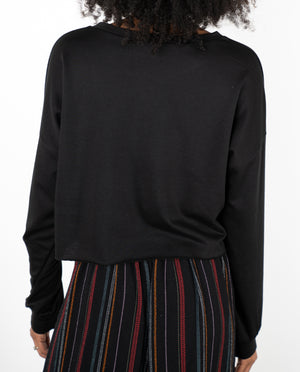 Manifest Crop Fleece Sweatshirt