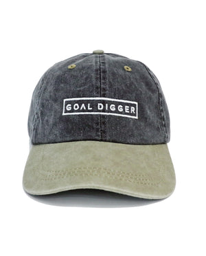 GOALDIGGER Relaxed Hat (2-Tone)