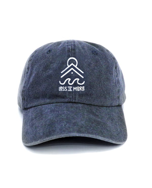 Less is More Relaxed Hat (Navy)