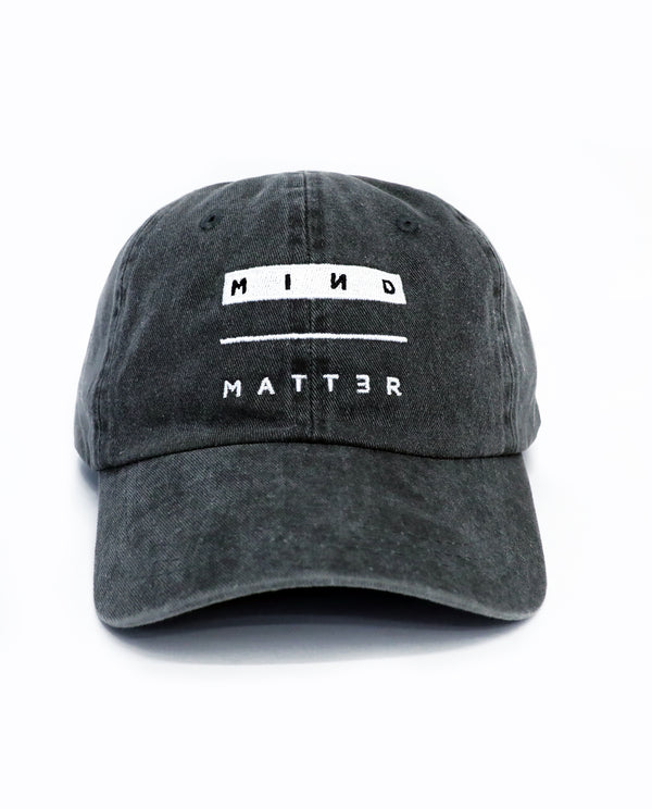 Mind Over Matter Relaxed Hat (Washed Charcoal)