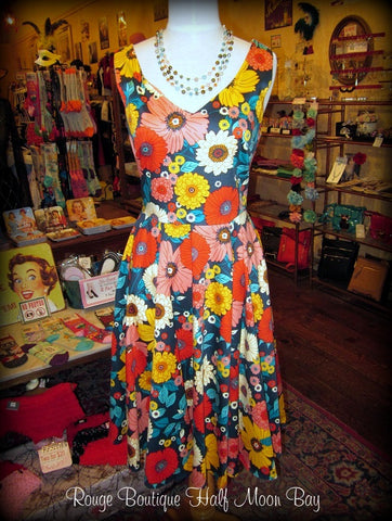 Floral Hostess Dress