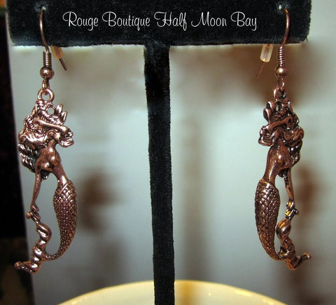 Mermaid 'Sculpture' earrings