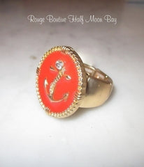 Anchor stretch ring