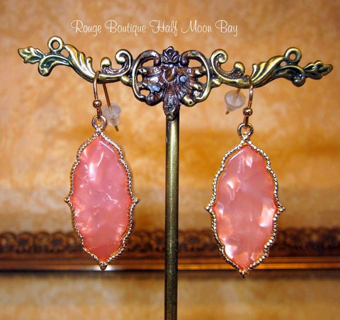 Blush Opalesque earrings