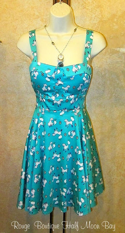 Retro Tie-back fox dress