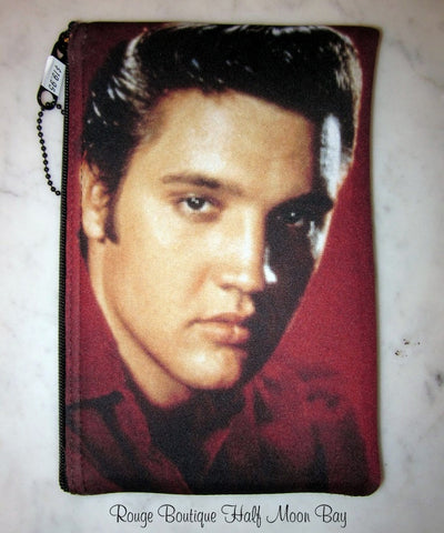 Elvis Zipper Pouch (Medium)