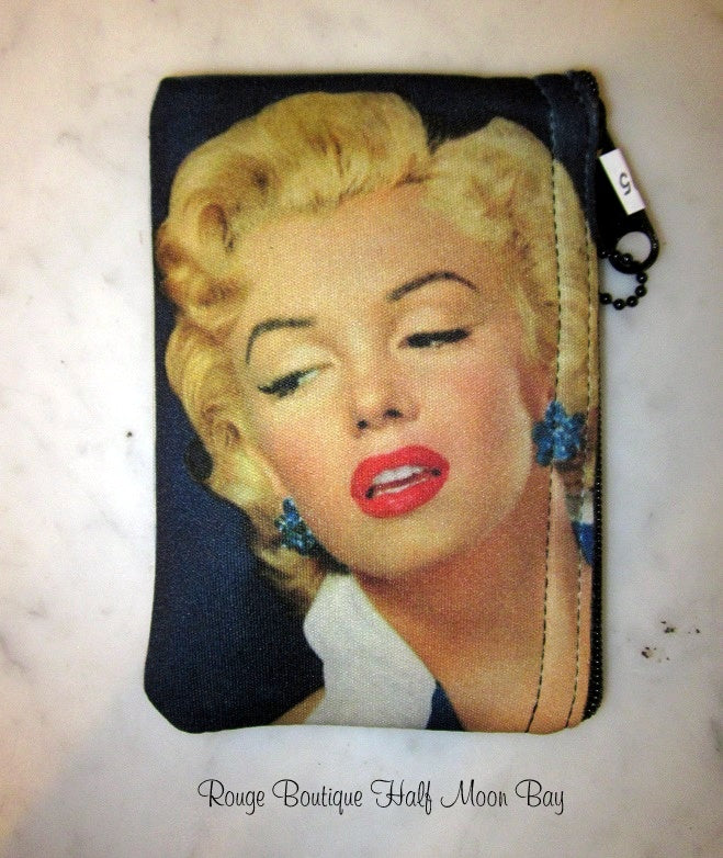 Marilyn Monroe Zipper Pouch (Small)