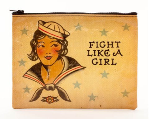 Sailor Girl Zipper Pouch