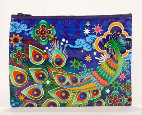 Peacock Zipper Pouch