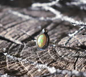 Opal and the Moon-Ring #6 US Ring Size 4