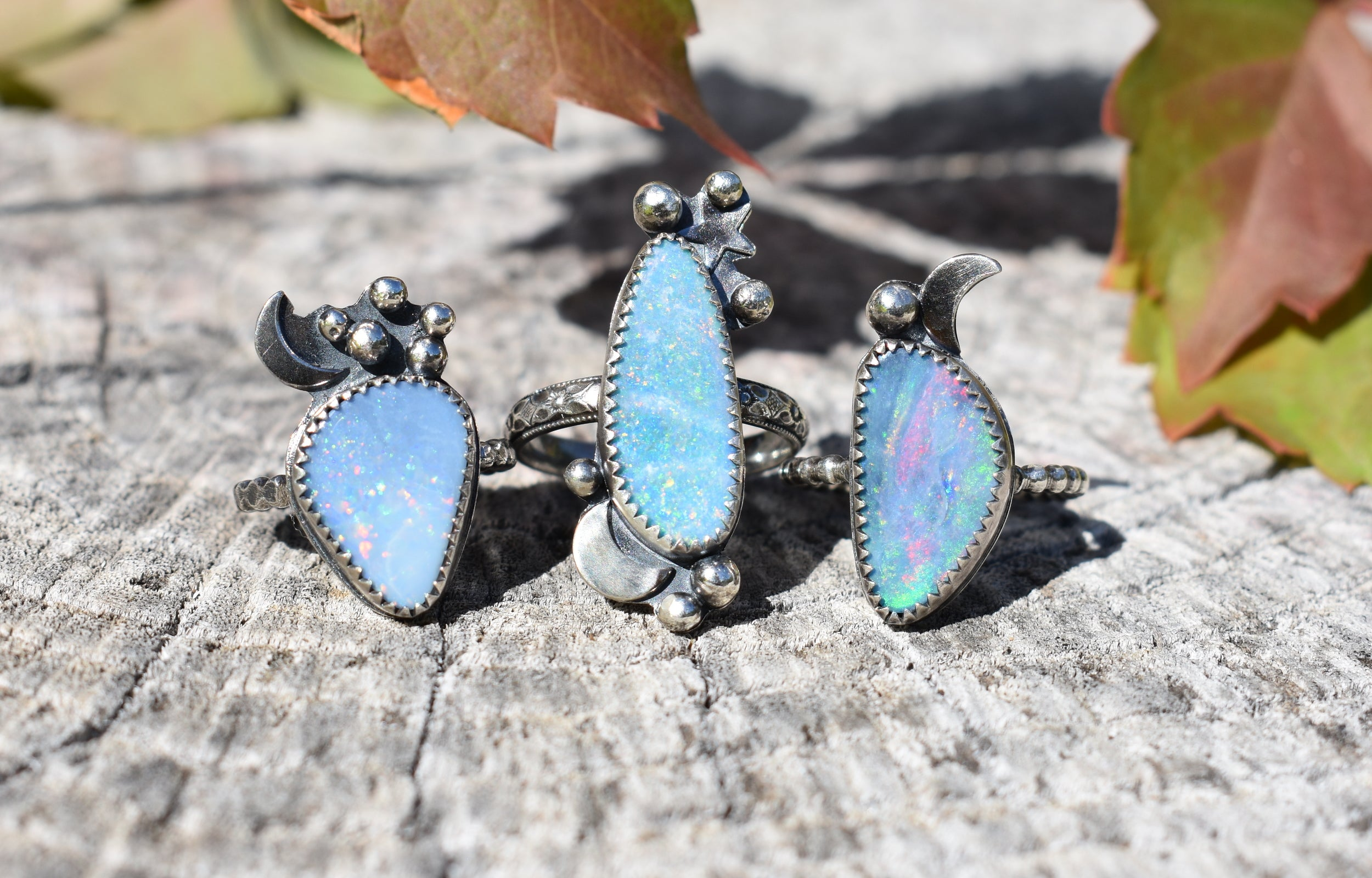 Opal and the Moon-Ring #1 US Ring Size 5