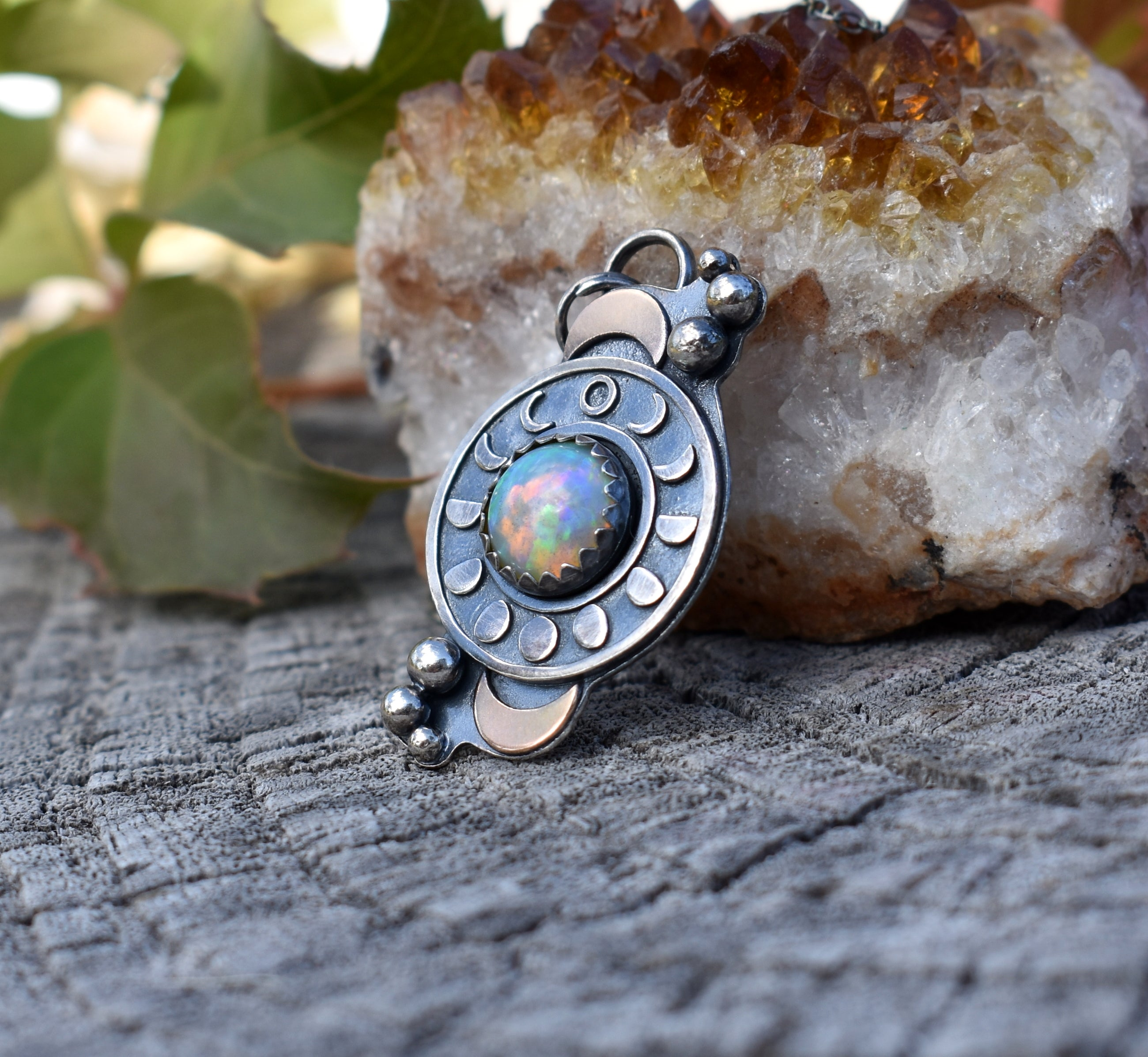 Opal and the Moon-Pendant #1