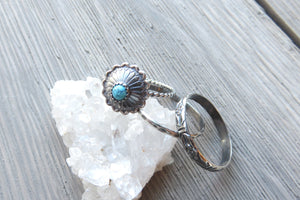 Turquoise Concho Boho Stacking Set