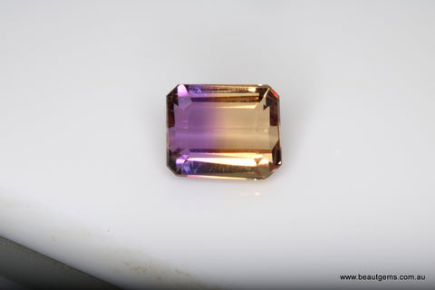 3.31 carat Bi-colour Purple and Yellow Bolivia Ametrine