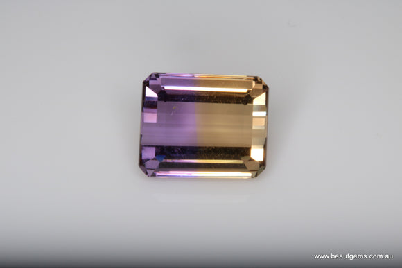4.55 carat Bi-colour Purple and Yellow Bolivia Ametrine