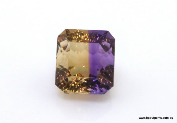 9.05 carat Bi-colour Purple and Yellow Bolivia Ametrine