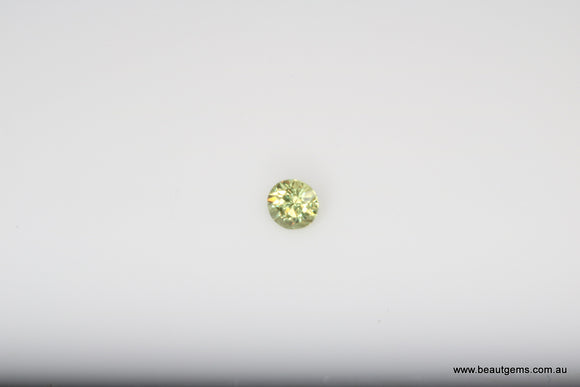 0.07ct Namibia Green Demantoid Garnet
