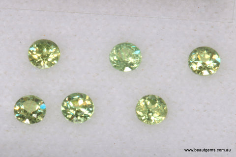 0.08ct Namibia Green Demantoid Garnet