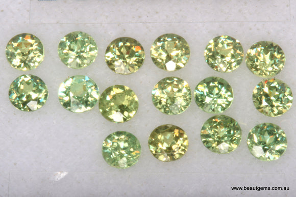 0.10ct Namibia Green Demantoid Garnet