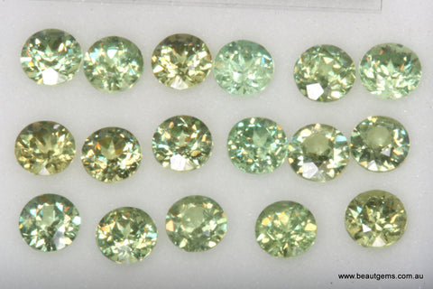 0.12ct Namibia Green Demantoid Garnet