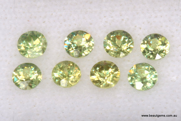 0.13ct Namibia Green Demantoid Garnet