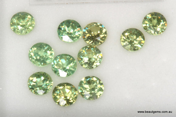 0.14ct Namibia Green Demantoid Garnet