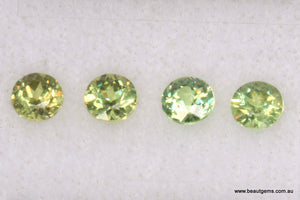 0.16ct Namibia Green Demantoid Garnet