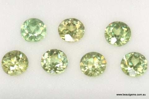 0.18ct Namibia Green Demantoid Garnet