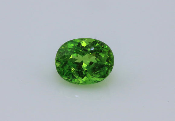 0.88 carat Green Chrome Mali Garnet