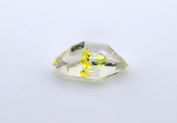 1.07 carat Pakistan Quartz with Petroleum Inclusions