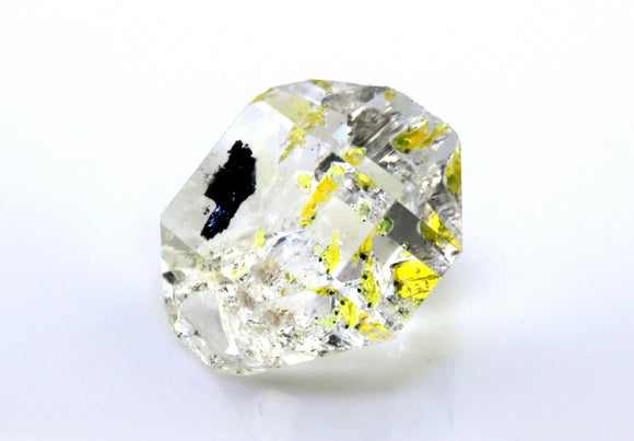 12.30 carat Pakistan Quartz with Petroleum Inclusions