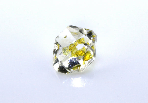 1.42 carat Pakistan Quartz with Petroleum Inclusions