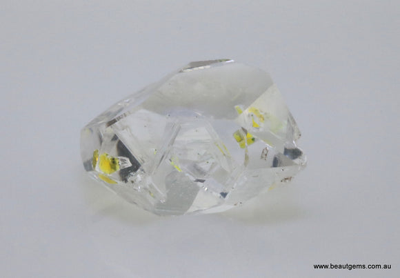14.69 carat Pakistan Quartz with Petroleum Inclusions