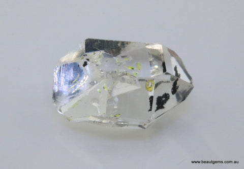17.13 carat Pakistan Quartz with Petroleum Inclusions