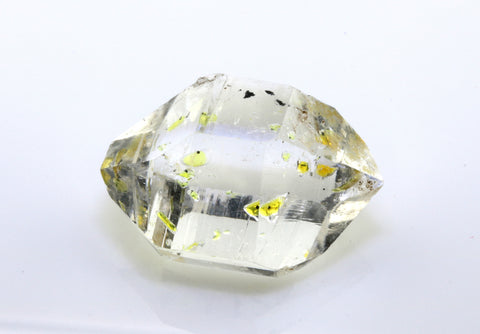 24.60 carat Pakistan Quartz with Petroleum Inclusions