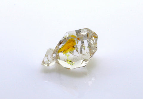 3.12 carat Pakistan Quartz with Petroleum Inclusions