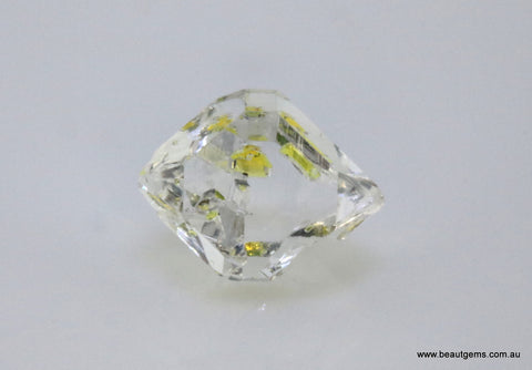 3.28 carat Pakistan Quartz with Petroleum Inclusions