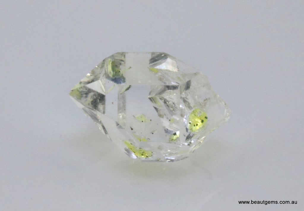 3.37 carat Pakistan Quartz with Petroleum Inclusions