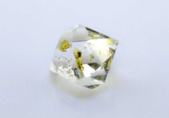 3.46 carat Pakistan Quartz with Petroleum Inclusions