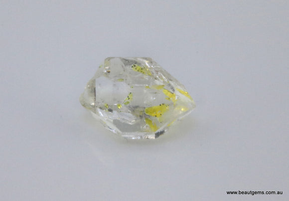 3.47 carat Pakistan Quartz with Petroleum Inclusions
