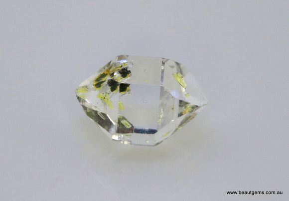 3.62 carat Pakistan Quartz with Petroleum Inclusions
