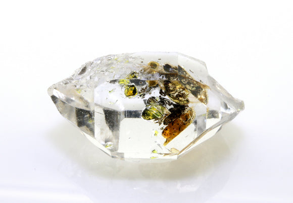 36.25 carat Pakistan Quartz with Petroleum Inclusions