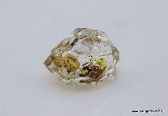 4.42 carat Pakistan Quartz with Petroleum Inclusions