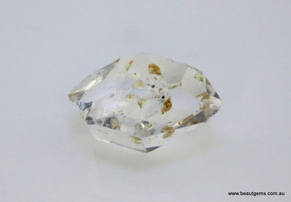 4.56 carat Pakistan Quartz with Petroleum Inclusions