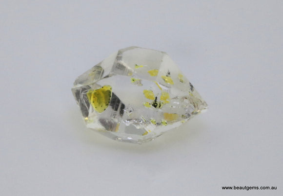 4.76 carat Pakistan Quartz with Petroleum Inclusions