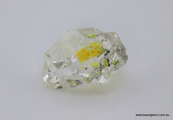 5.02 carat Pakistan Quartz with Petroleum Inclusions