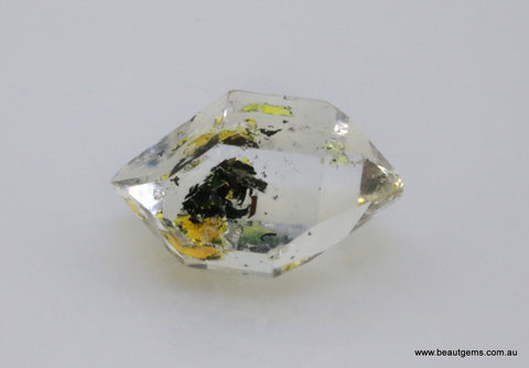 5.66 carat Pakistan Quartz with Petroleum Inclusions