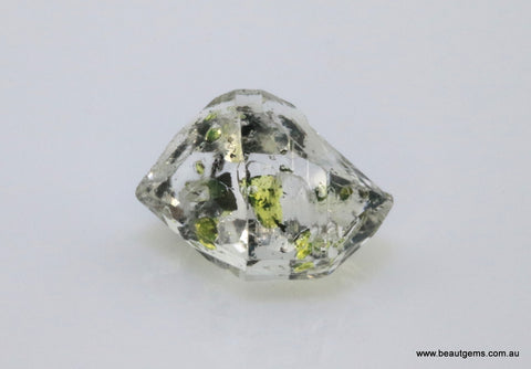 6.18 carat Pakistan Quartz with Petroleum Inclusions