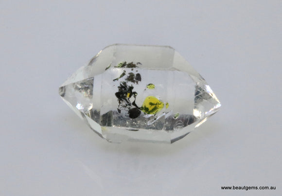 6.98 carat Pakistan Quartz with Petroleum Inclusions